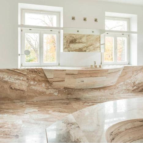 bathroom marble cleaning