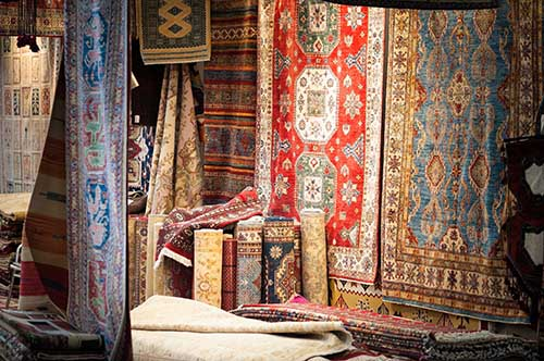 Oriental rug cleaning by The Carpet Magicians